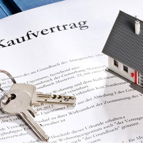 Homepage für Immobilien Vermittlung